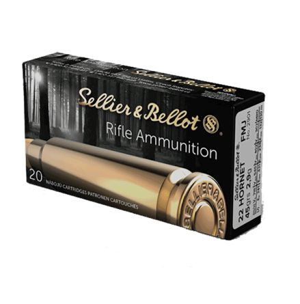 Sellier & Bellot 22 Hornet 45gr FMJ 20/ask