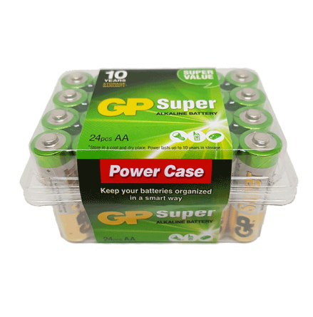 GP Super AA Batterier 24-P