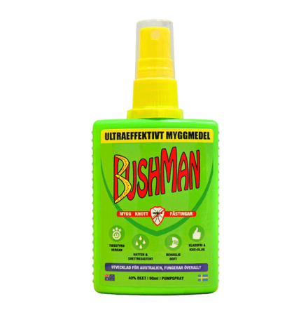 Bushman myggmedel Spray 90 ml