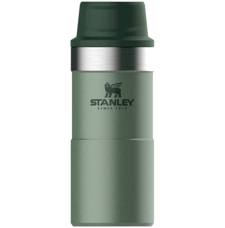 Stanley Classic Trigger-Action Travel Mug 0.35L Green