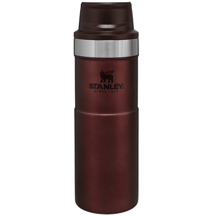 Stanley Classic Trigger-Action Travel Mug 0.47L Wine