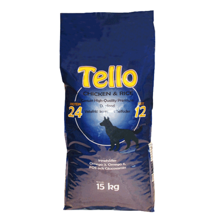 Tello Chicken & Rice 15kg